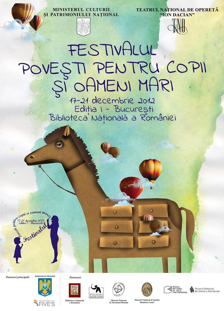 Festivalul Povesti pentru copii si oameni mari