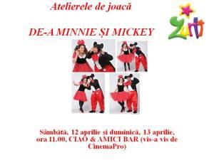 Atelierele de joacă Mickey si Minnie