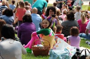 Fetita Zurli la picnic!