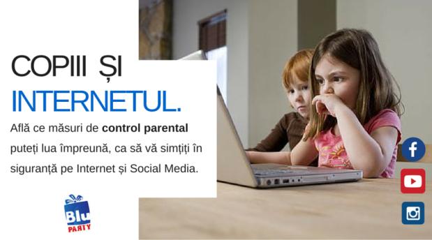 copiii si internetul