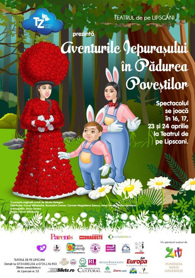 TZ - poster Aventurile Iepurasului 70x100-01
