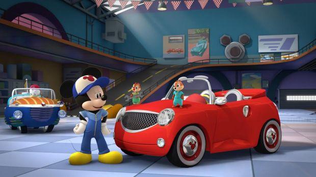 Mickey și piloții de curse3 (2)